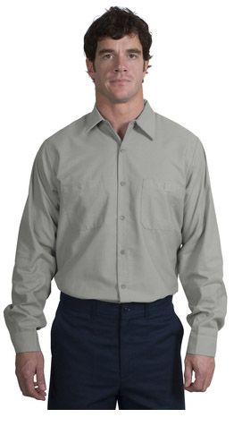 RedKap® - Long Sleeve Industrial Work Shirt. RedKap puts the toughest materials and advanced stay-clean technology into this shirt so you get the most out of it. This hardworking style is built to meet IL50 standards, which means it excels through 50 industrial launderings-Arizona Cap Company-(480) 661-0540 Custom Printed & Embroidered.Visit our site for colors available and the price
