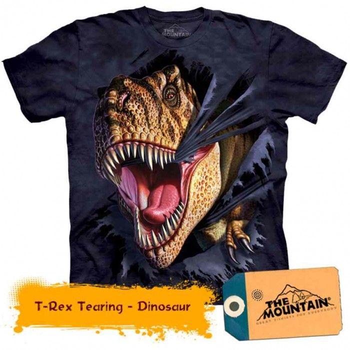 Tricouri The Mountain – Tricou T-Rex Tearing