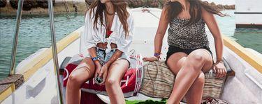"""Artist Gustavo Fernandes; Painting, """"Morning Trip"""" #art"""