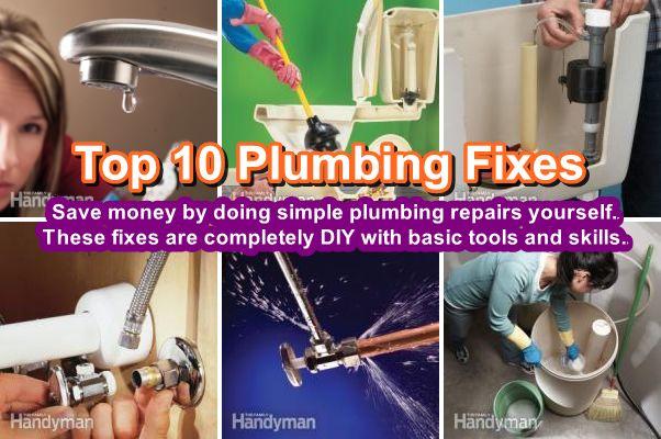 Top 10 DIY Plumbing Fixes