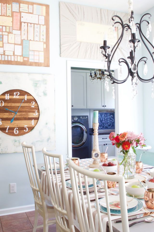 See how one couple transformed cookie-cutter new construction into a colorful and eclectic farmhouse.