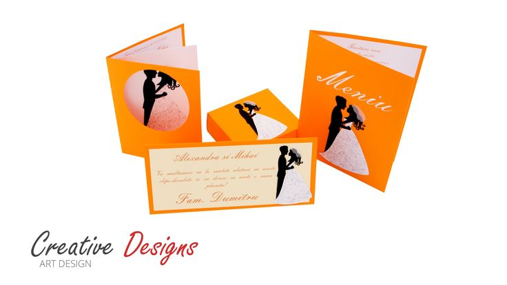 Pachet Nunta Handmade | Creative art Designs  https://www.creative-art-designs.com/invitatii-nunta
