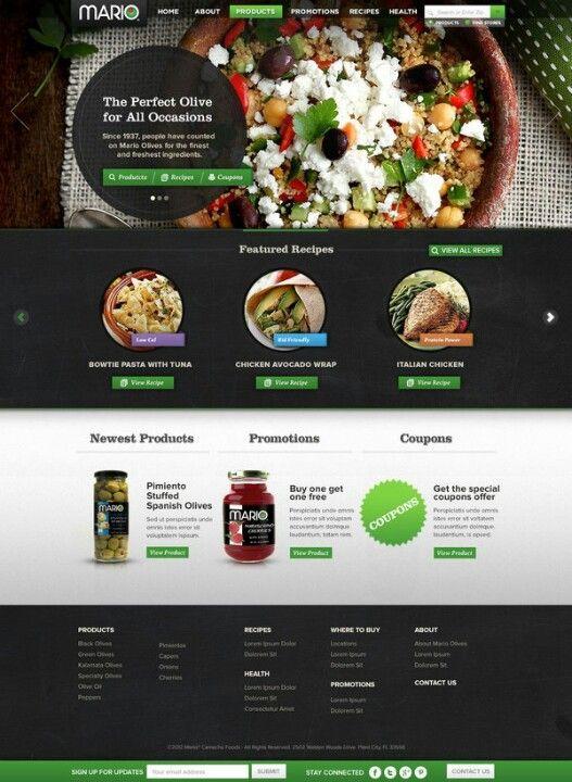 #Webdesign for #food  83oranges.com