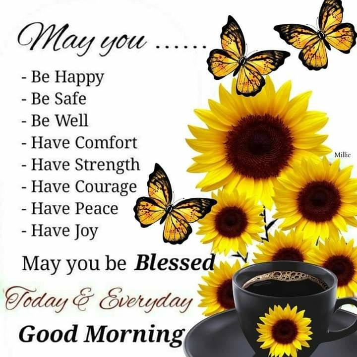 Good Morning May You Be Blessed Morning Inspirational Quotes Good Morning Inspirational Quotes Good Morning Messages