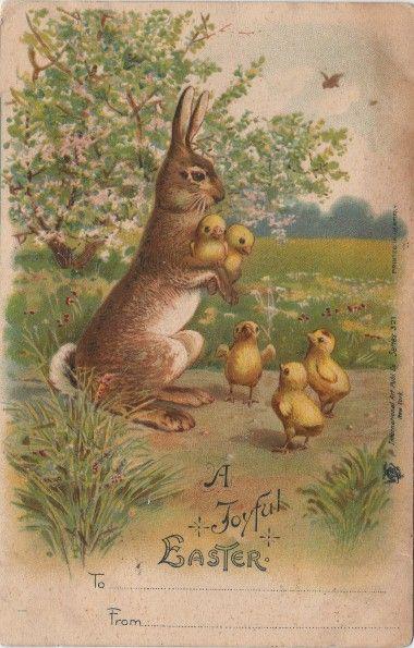 **FREE ViNTaGE DiGiTaL STaMPS**: Free Vintage Download - Easter Postcards