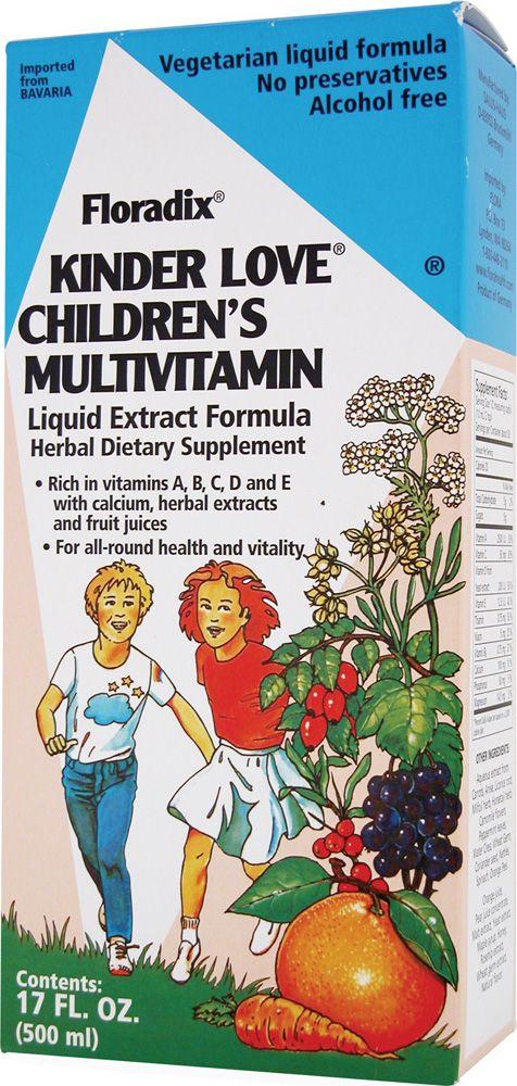Flora Floradix® Kinder Love® Children's Multivitamin