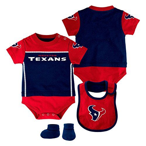 NFL Houston Texans CreeperBib and Bootie Set 69 Months DP Obsidian >>> Details can be found by clicking on the image.