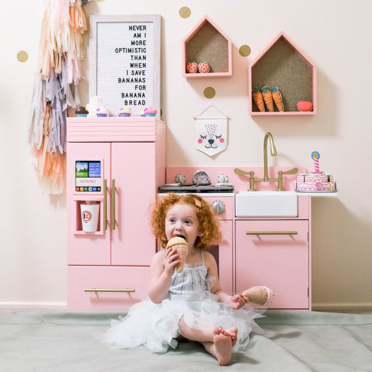 the perfect play kitchen  for any little lady @celeste_wright ohhelloceleste.com Oh Hello Celeste Celeste Wright Teamson Kids play kitchen Adventure Kitchen seedling letter board gather cotton on kids cotton on kids us dress up kids play room christmas gift for toddler toddler playroom