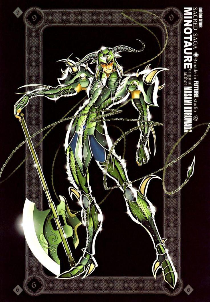 Recordemos Sacred Saga los geniales Artbooks basados en Saint Seiya 02 0