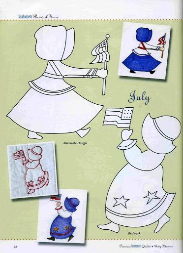 523 Best Sunbonnet Sue And Her Friends Images On Pinterest
