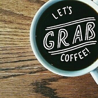 Let's grab #coffee
