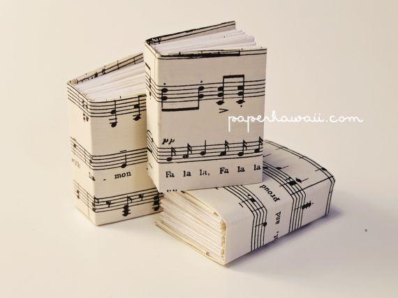 Mini modular origami book tutorial