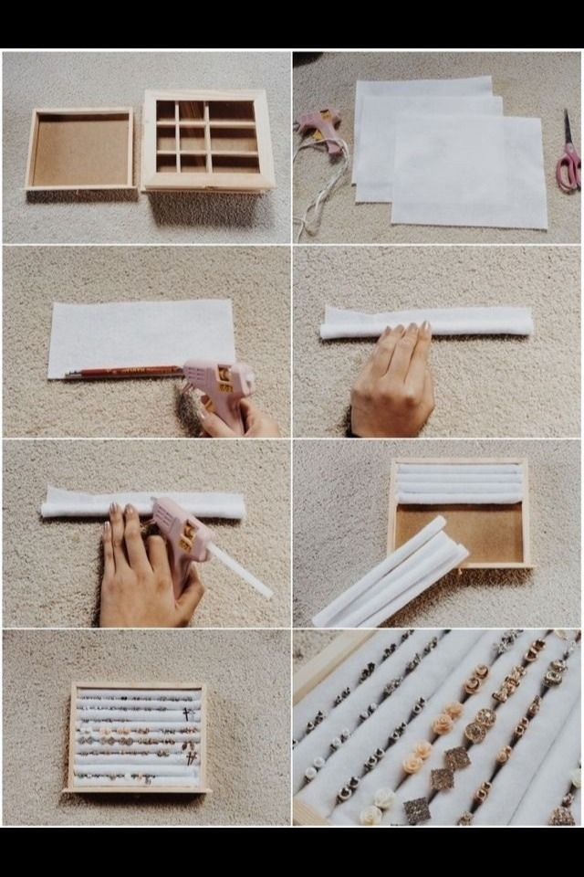 How To Diy Stud Earring Make Holder ! Like Follow:)These are a couple of ways to make your own stud earring case! Please like/follow!;)