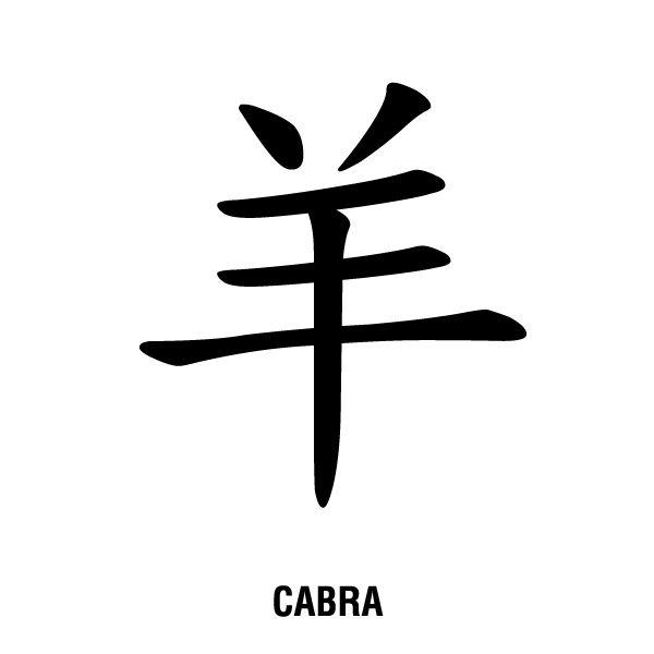 Ilustración gratis - Horóscopo chino  - Símbolo de la cabra