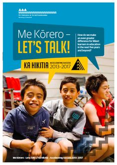 This booklet will:  • tell you a bit about Ka Hikitia • provide you with a snapshot of the current picture for Māori learners in education • highlight some of the Government's key ideas for making a difference over the next five years and beyond • tell you about the Government's focus on targets and driving improvement based on the evidence of what works best