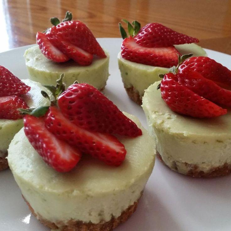 Avocado Lime Cheesecake Cupcakes Recipe on Food52 recipe on Food52