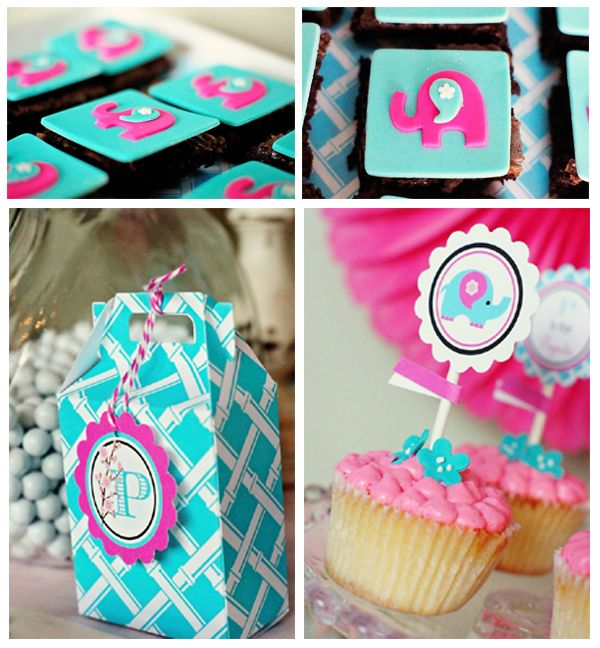 Love the pink and turquoise color combination!