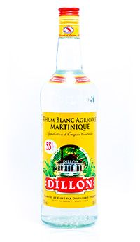 Dillon Rhum Blanc Agricole 55%
