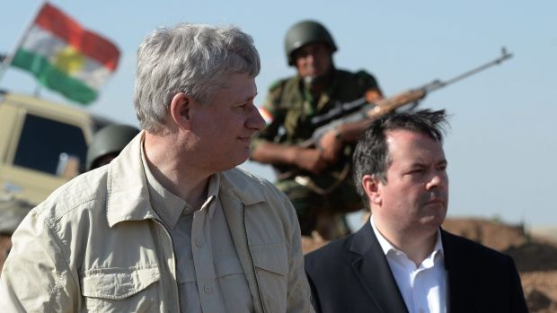 Former PM Harper and Jason Kenney break military protocol and place soldiers and operational status at risk.