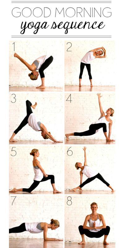 Easy Morning Yoga Routine | Thanks to Pinterest's workout ...