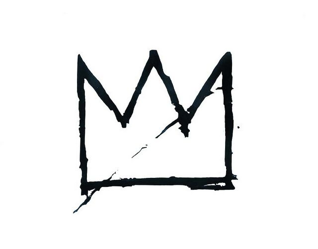 Basquiat crown by starvinartist 75, via Flickr