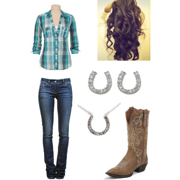 this is such a country girl outfit...i love it!!!