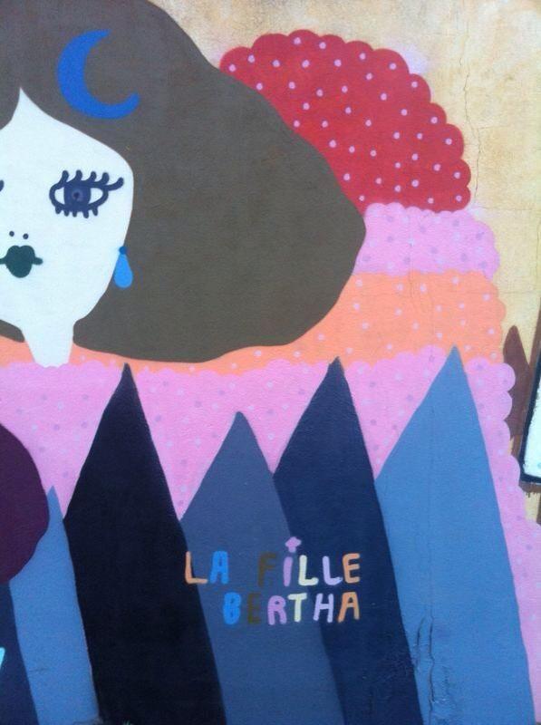 """In a Garden of Freak Creatures"" La Fille Bertha   2013"