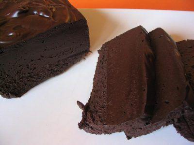 Divine marquise au chocolat  Sugar free