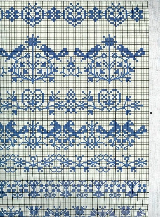 Simple lace stitch knitting pattern worked over four rows! Description from pinterest.com. I searched for this on bing.com/images