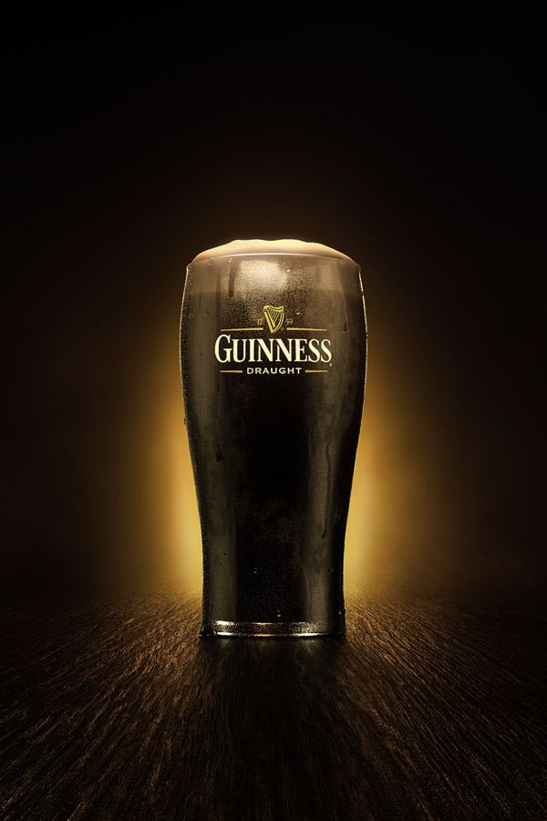 3d // Guinness Pint by Diego Maricato, via Behance