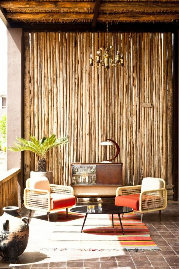 bamboo balcony attractive design beautiful furniture pieces