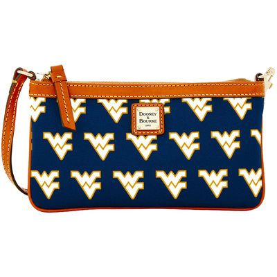Women's Dooney & Bourke Navy West Virginia Mountaineers Wristlet