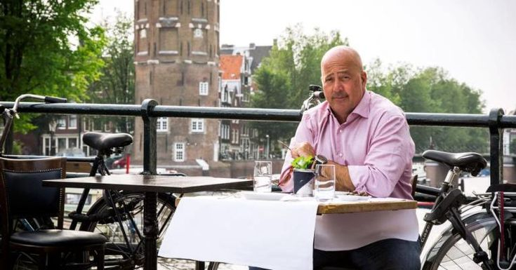 Chef Andrew Zimmern talks about the future of food  #bizarre #news