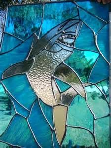 21 Best Stained Glass Ocean Sharks Images On Pinterest