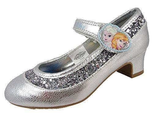 Oferta: 25.14€. Comprar Ofertas de Disney Clara - Zapatos de vestir de Material Sintético para niña Plateado Plata barato. ¡Mira las ofertas!