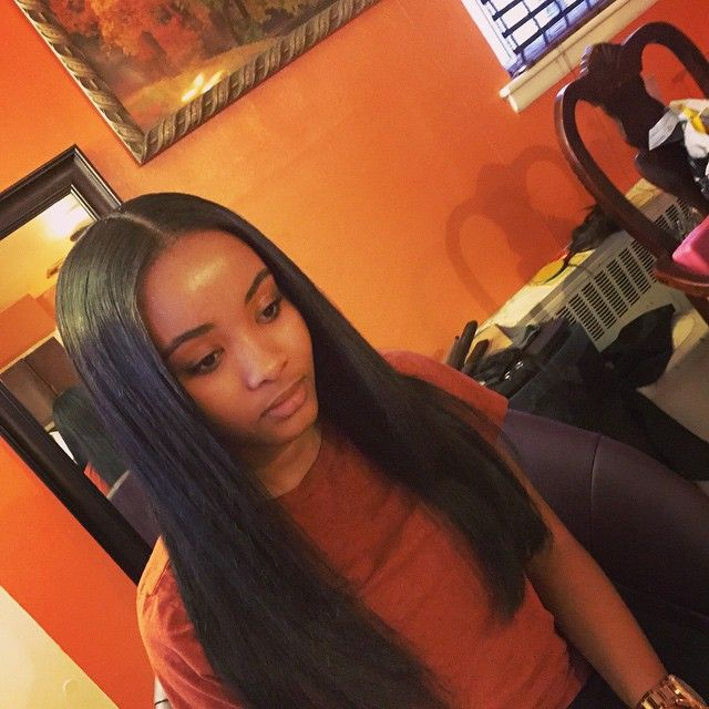 Perfection full head minimum leave out trimmed ends
