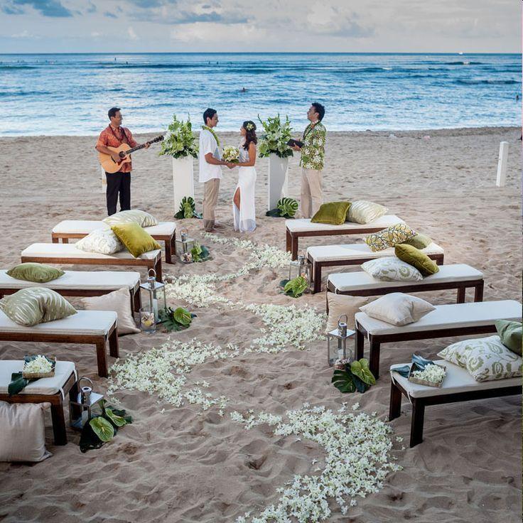 22 Aloha Wedding Decoration (With images) Beach wedding