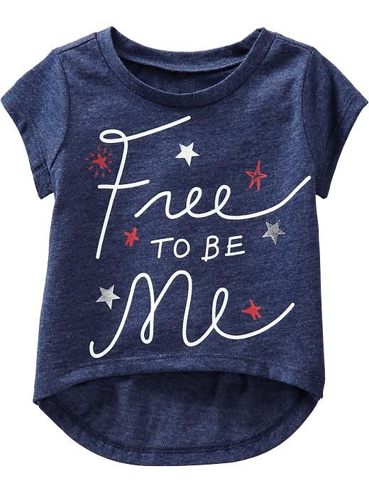 Red white and blue 4th of July shirt for kids From Old Navy