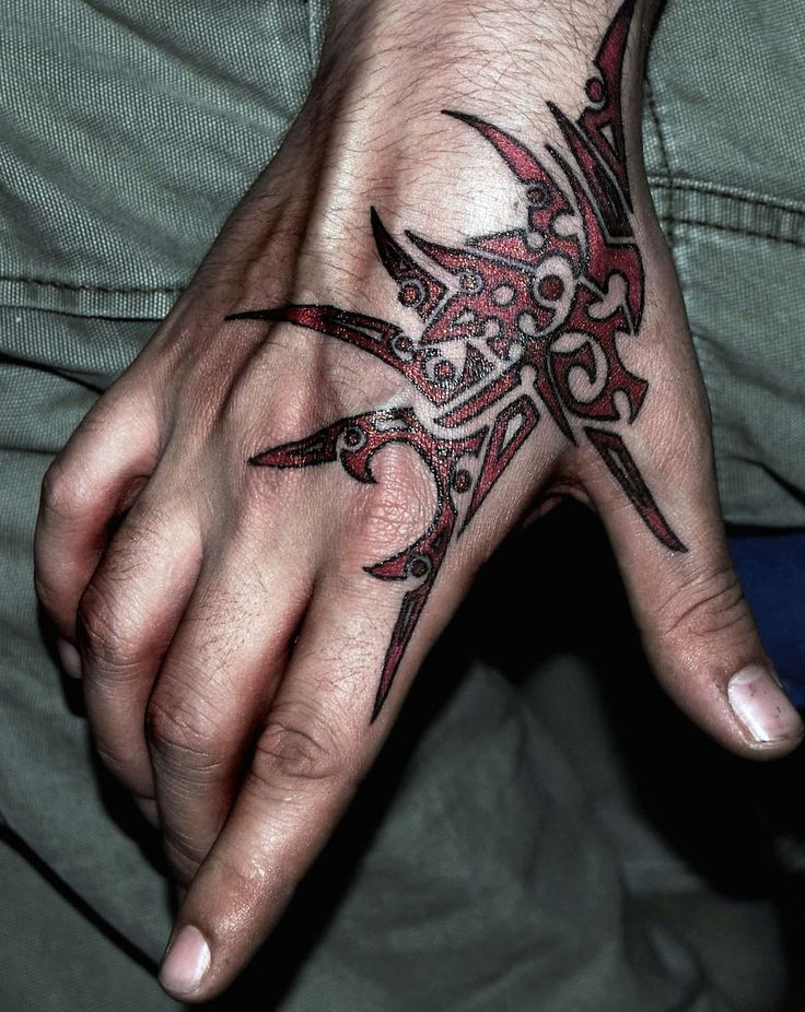 full-hand-tribal-tattoo