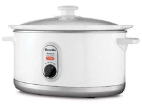 The Cook Me Tender - 5L Slow Cooker with Auto Heat Swtiching. This 5 Litre Slow Cooker is perfect for family meals and incorporates 3 settings. There's 'high' for a slightly quicker cook, 'low' for a slower cook and 'auto,' which starts on 'high' to cook through then switches automatically to low heat for a long, slow, flavour infusion. Start before you leave for work and arrive home to a rich and hearty meal for the family.