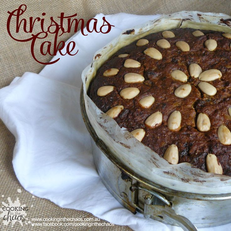 Christmas Cake - Cooking in the Chaos
