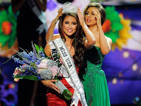 Miss Nevada Nia Sanchez Is Crowned Miss USA : People.com / June 8, 2014 http://www.people.com/article/miss-usa-winner-2014-miss-nevada-nia-sanchez