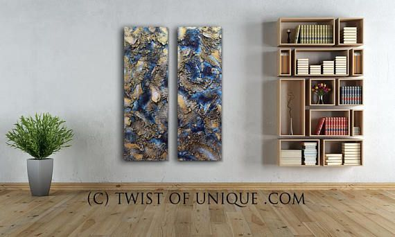 Rusted metal abstract Painting / ORIGINAL abstract / 2