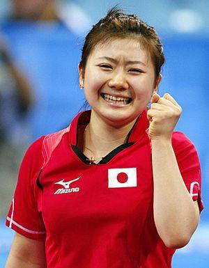 卓球日本代表、福原愛選手。団体のメダルの色は愛ちゃんにかかっている!?リオデジャネイロオリンピック・リオ五輪2016
