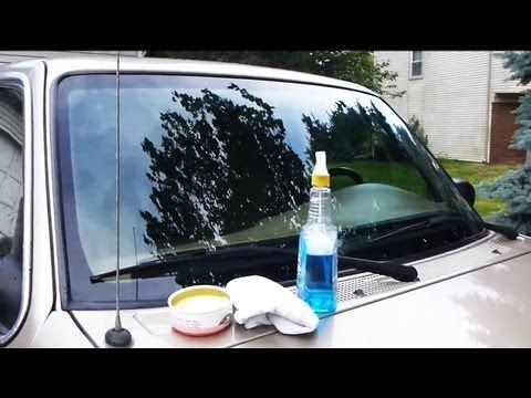 HOW TO SUPER CLEAN YOUR WINDSHIELD!!! Very Useful Old-School Trick: NO Car NO Fun! Muscle Cars and Power Cars! |
