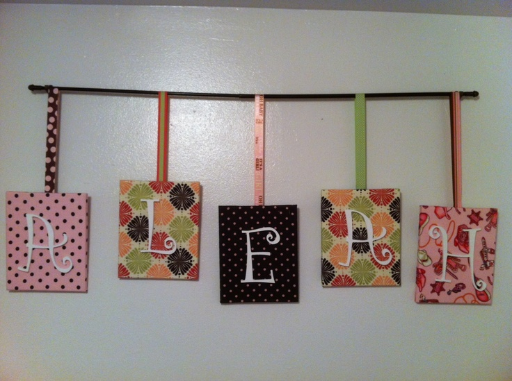 Canvas For Little Girls Room