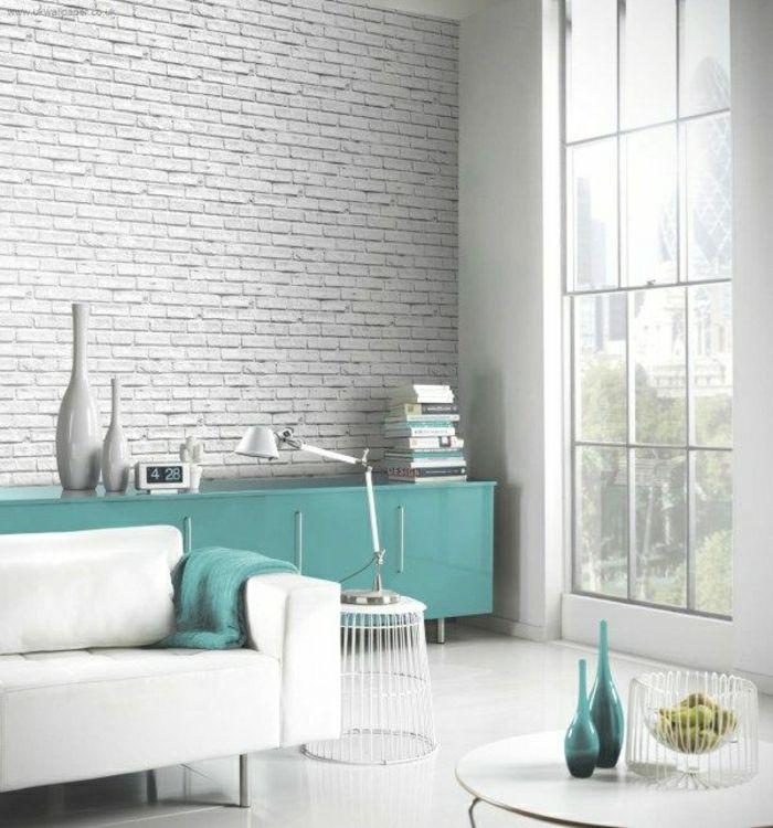 217 besten Wanddeko für ein modernes Zuhause Bilder auf Pinterest - wohnzimmer petrol grau