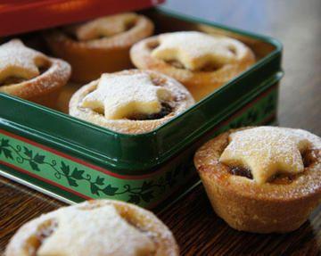 Christmas Fruit Mince Tarts