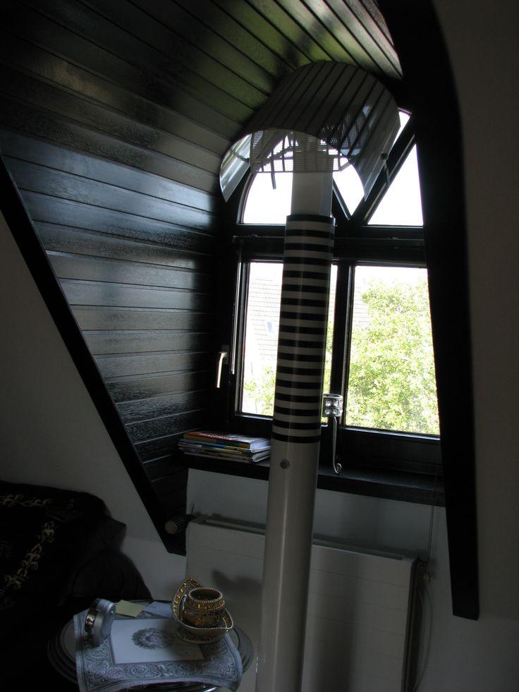 Dachfenster vom Schlafzimmer aus