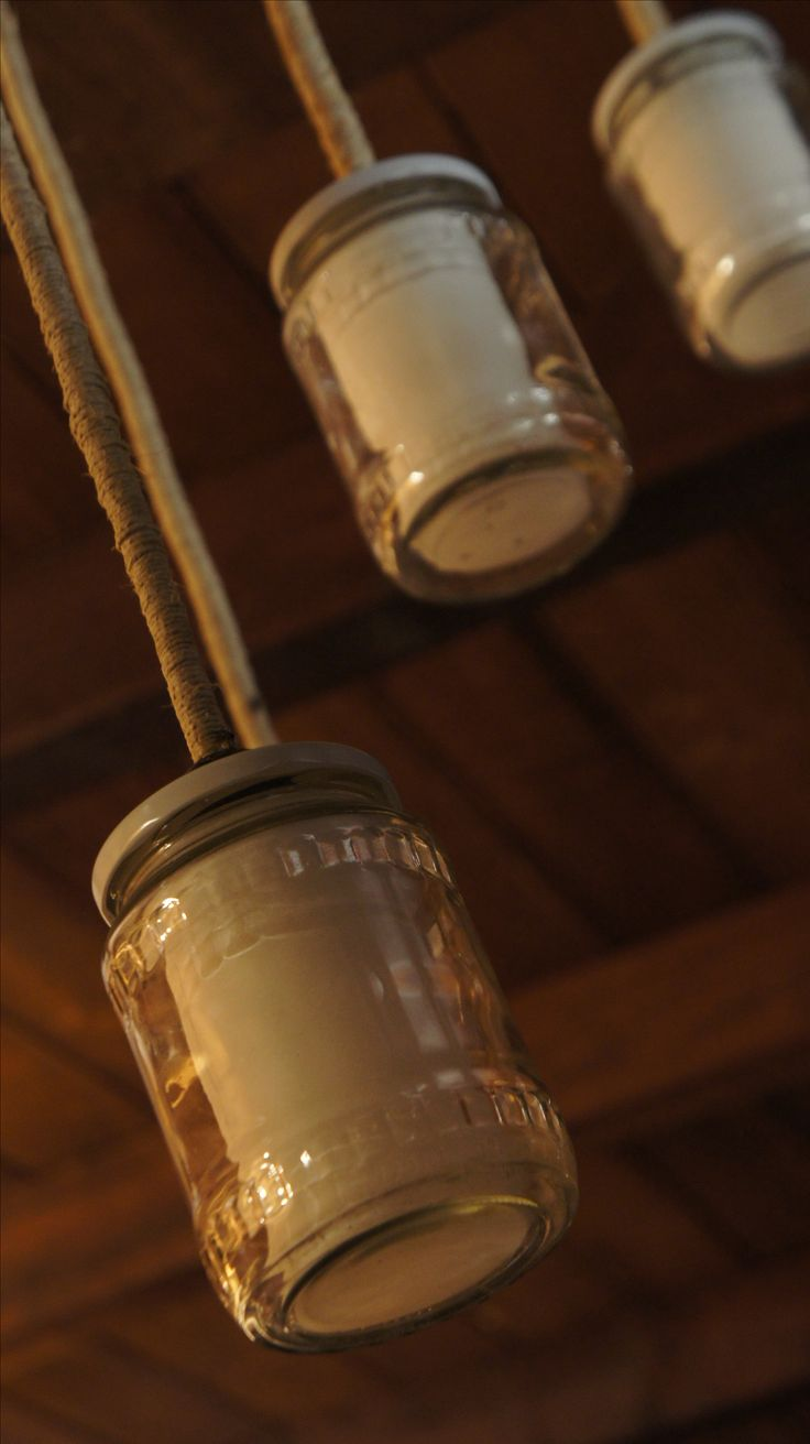 befőttesüveg lámpa